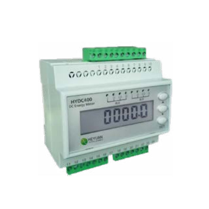 Multi channel DC energy meter HYDC400